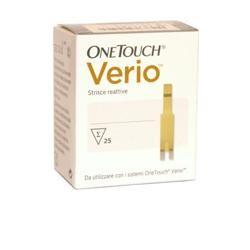 OneTouch Verio - 25 Strisce Reattive per il Controllo della glicemia