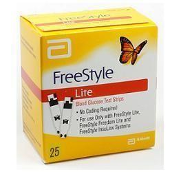 Freestyle Lite Glicemia 25 Stisce