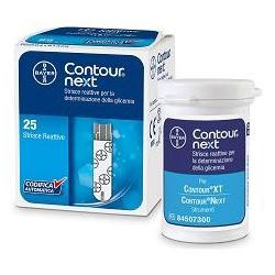 Contour Next 25 Strisce Reattive Glicemia