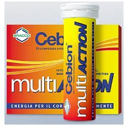 Cebion Multiaction 20 compresse effervescenti