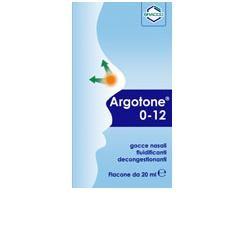 Argotone 0-12 soluzione nasale 20 ml