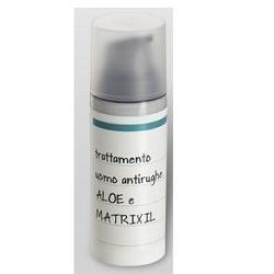 Linea Farmacia Petrelli Aloe Vera e Matrixil crema uomo 50 ml