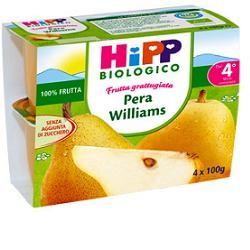 Hipp Bio Frutta Grattugiata Pera Williams 4x100g