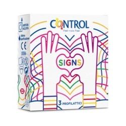 Control Signs 3 pz
