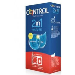 Control 2 in 1 Nature + Lube 3 pz