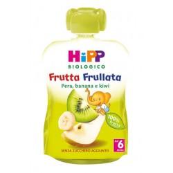 Hipp Bio Frutta Frullata Pera Banana Kiwi 90g 6 Mesi +