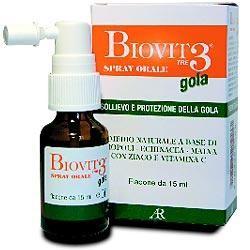 Biovit 3 Gola spray 1 flacone 15 ml