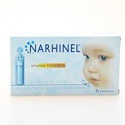 Narhinel soluzione fisiologica 5 ml 20 flaconcini