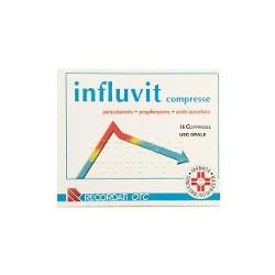 Influvit Paracetamolo Dolori e Influenza 16 Compresse