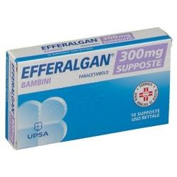 Efferalgan 10 supposte 300mg