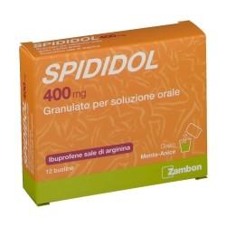 Spididol 12 Bustine 400 mg Gusto Menta Anice