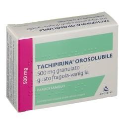 Tachipirina Orosolubile 12 bustine 500mg gusto fragola e vaniglia