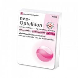 Neo Optalidon 8 compresse rivestite 200mg + 125 mg 25 mg