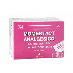 Momentact analgesico granulato 12 bustine 400mg