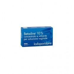 Betadine Soluzione Vaginale 10% 5 flaconi + 5 fiale + 5 cannnule
