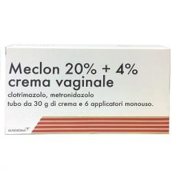 Meclon crema vaginale 20% + 4% 6 applicatori 30 g