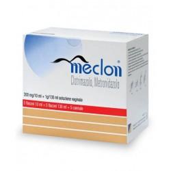 Meclon soluzione vaginale 5 flaconi 200 mg/10 ml + 1 g/130 ml