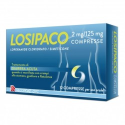 Losipaco 12 compresse 2 mg + 125 mg