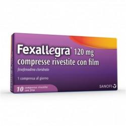 Fexallegra 10 compresse 120 mg