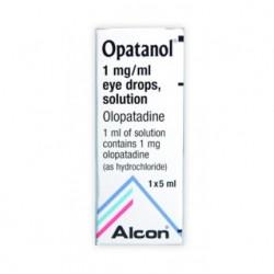 Opatanol 1mg/ml Collirio 1 flacone 5 ml