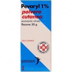 Pevaryl 1% polvere cutanea 30 g