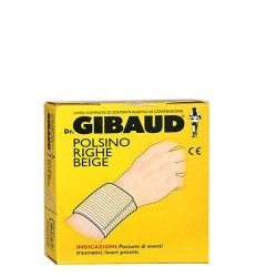 Gibaud Polsino a Righe 8cm Taglia 1 Colore: Beige