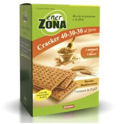 EnerZona Cracker Mediterraneo 7 miniporzioni da 25 g