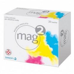 MAG 2 soluzione orale granulato 20 bustine 2,25 g