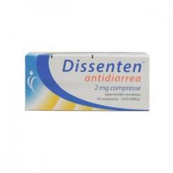 Dissenten Antidiarrea 10 compresse 2 mg