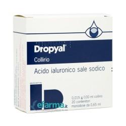 Dropyal collirio 20 flaconcini 0,65 ml