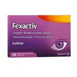Fexactiv Collirio Monodose 10 Flaconcini 0,5ml