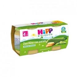 Hipp Biologico Omogeneizzato Zucchine Patate 2x80g 4 Mesi +