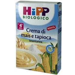 Hipp Biologico Crema Mais Tapioca Istantanea 4m+ 200g