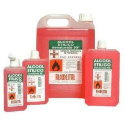 Alcool Etilico Denaturato 90%  1 L